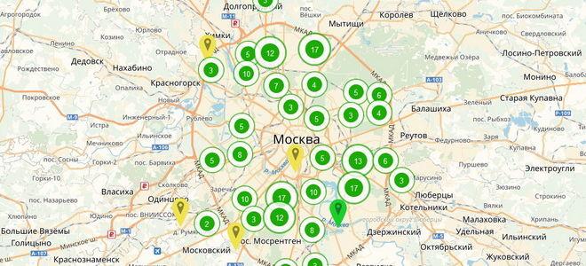 График сноса пятиэтажек в Москве по программе реновации жилья